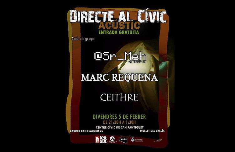 Directe al cívic.  @ cc de can pantiquet   Mollet del Vallès   Catalunya   Espanya