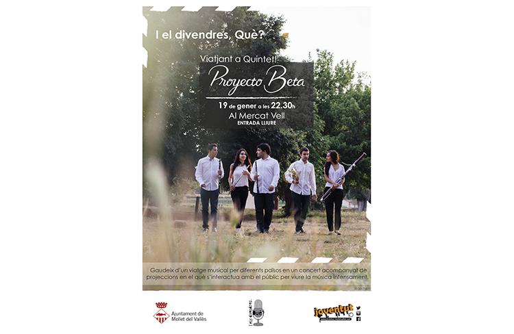 Viatjant a Quintet @ Mercat Vell  | Mollet del Vallès | Cataluña | Espanya