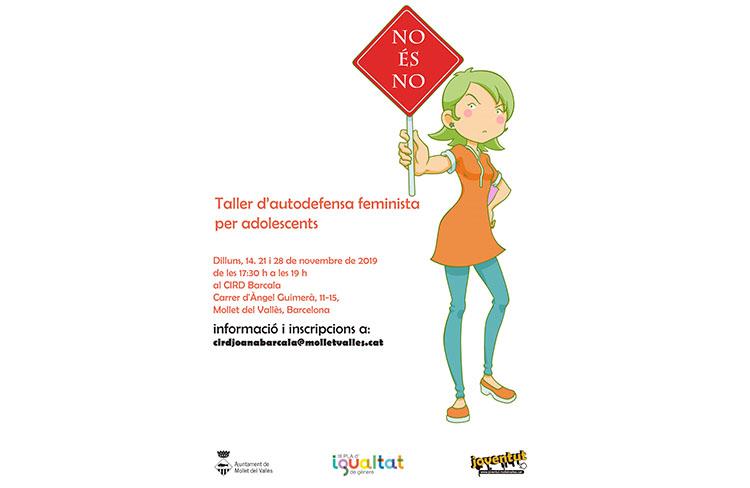 Taller d'autodefensa feminista @ CIRD BARCALA | Mollet del Vallès | Catalunya | Espanya
