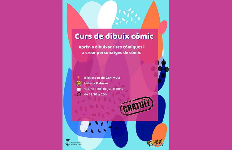Iniciació al dibuix de còmic @ Biblioteca de Can Mulà