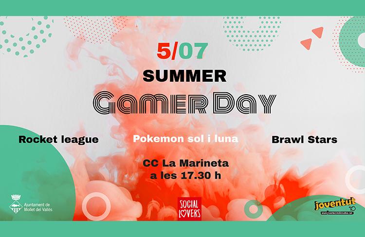 Gamer summer day  @ CC La Marineta