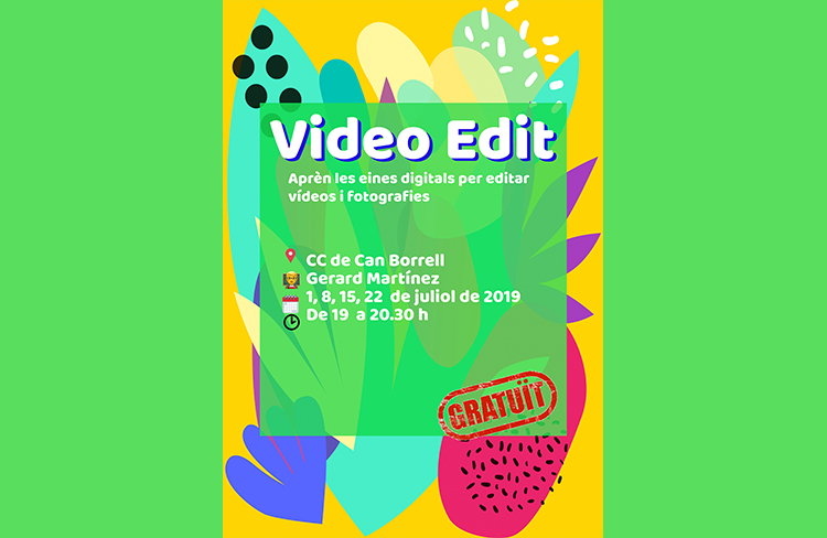 Curs de video edit @ cc de can borrell