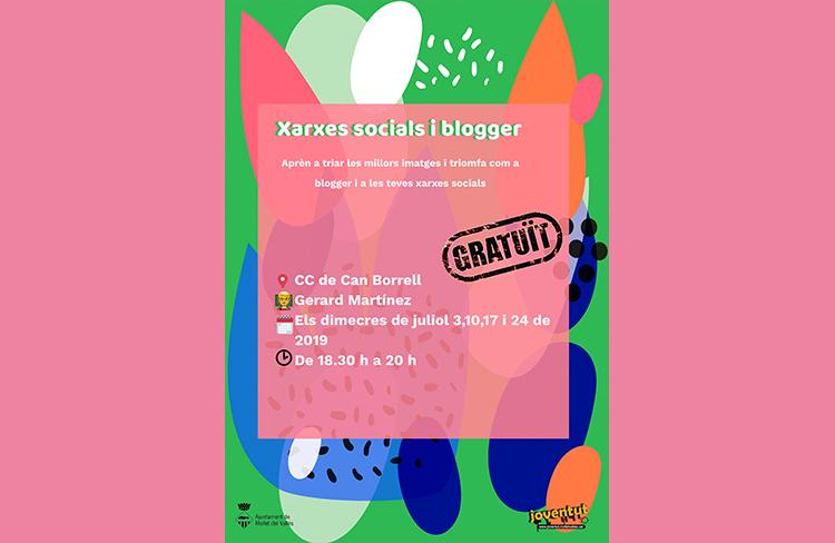 Taller de xarxes socials i blogger  @ cc de can borrell
