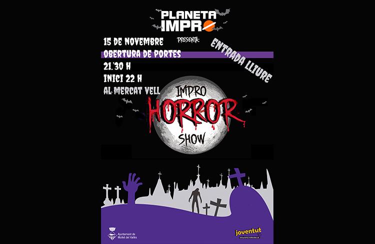 Impro horror show @ Mercat Vell