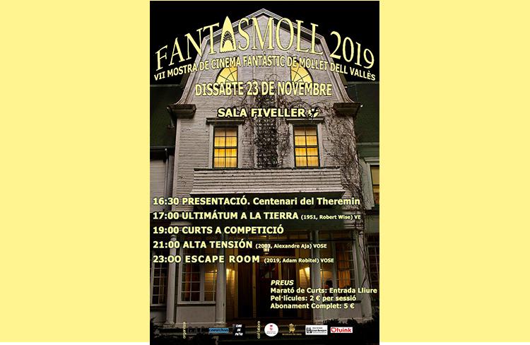 Fantasmoll 2019  @ Sala Fiveller