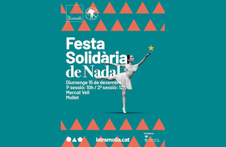 Festa de Nadal Solidària  @ Mercat Vell
