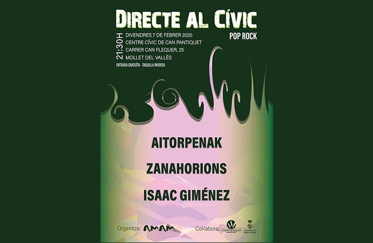 Directe al Civic  @ CC de Can Pantiquet