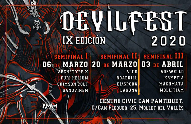 1a Semifinal Devilfest IX 2020 @ CC de Can Pantiquet