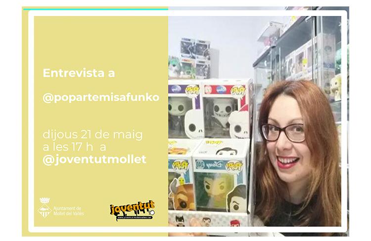 Entrevista a popartemisafunko @ Joventut Mollet