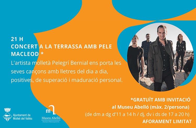 Concert amb Pele Macleod @ Museu Joan Abelló