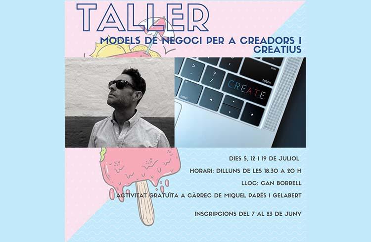 Models de negoci per a creadors i creatius @ CC de Can Borrell